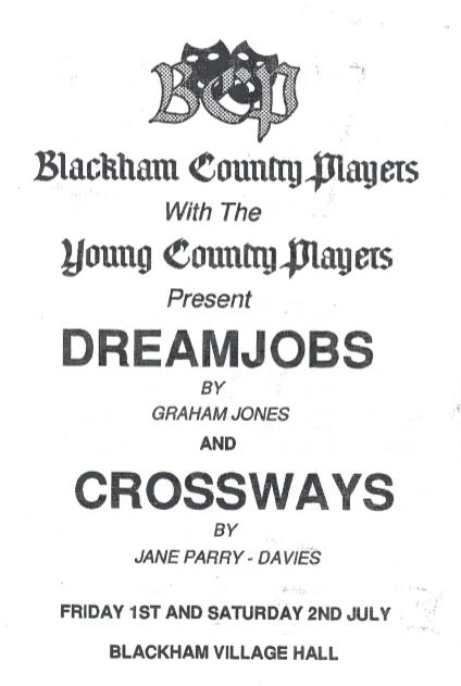 Dreamjobs and Crossways