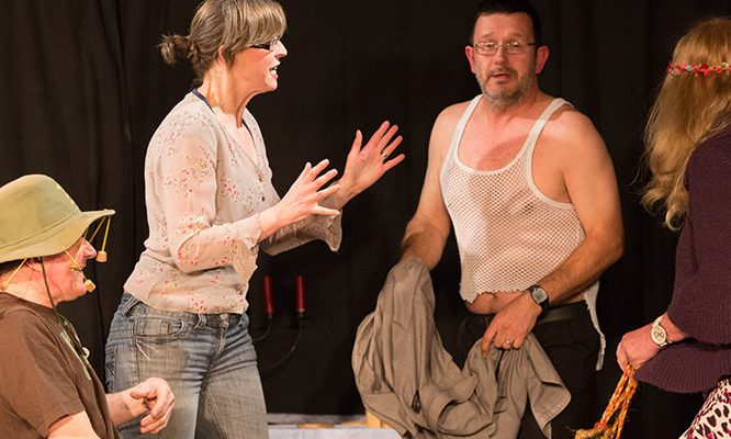 Blackham Country Players perform Skits and Sketches